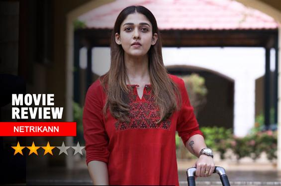 Netrikann Review - Nayanthara shines as a star in a film that starts as a thriller and settles into a pop corn entertainer!