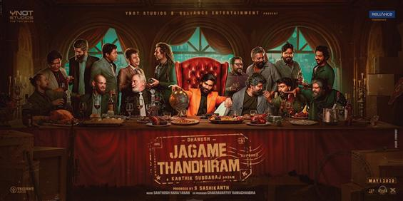 New Posters Unveiled for Dhanush's Jagame Thandhiram!