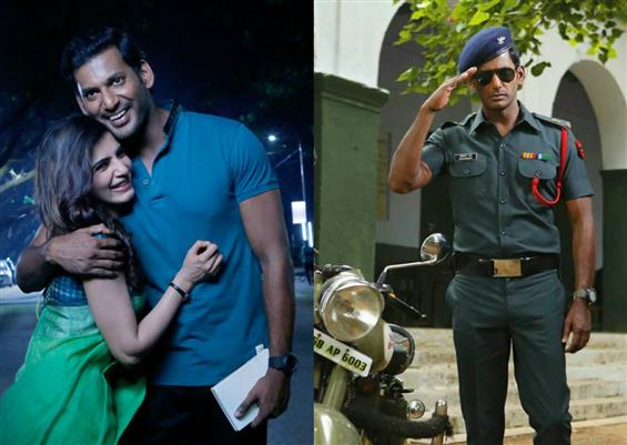 New Release Date for Vishal's Irumbu Thirai