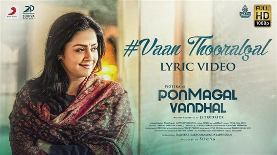New Song Released From Jyotika's Ponmagal Vandhal!