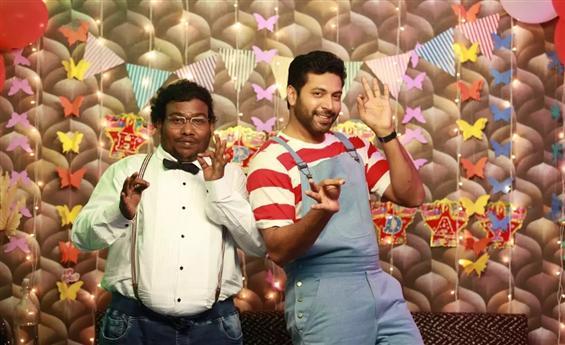 Nine Looks for Jayam Ravi in Comali!