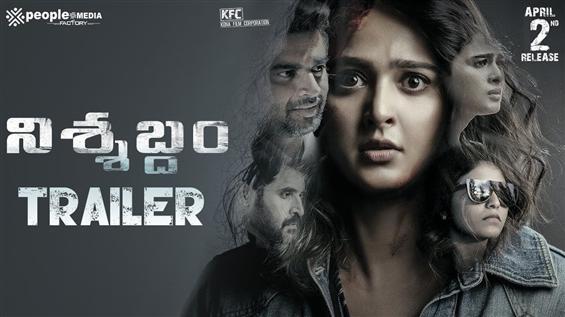 Nishabdham Trailer feat. Anushka Shetty, Anjali, M...