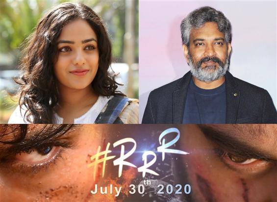 News Image - Nithya Menon in Rajamouli directed RRR? image
