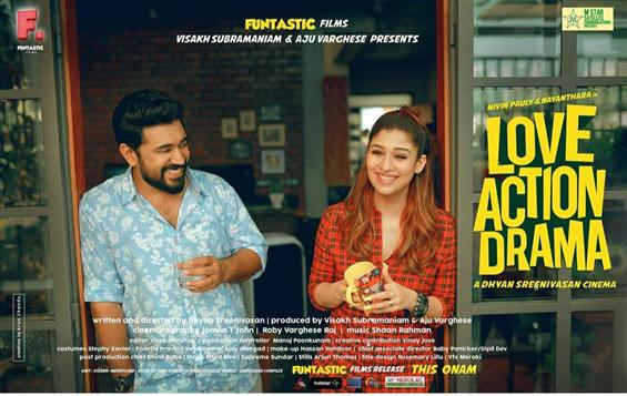 Nivin Pauly - Nayanthara's Love Action Drama First Look