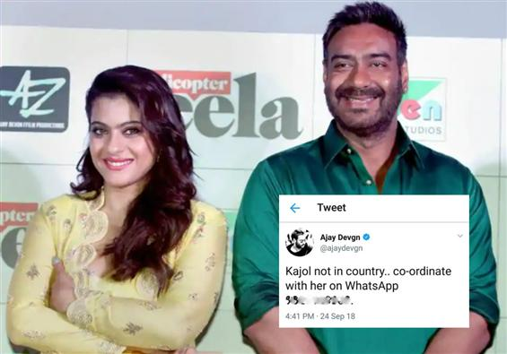No Entry for pranks at home,fumes Kajol after Ajay...