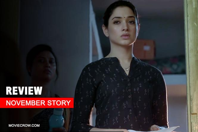 November Story Review - Tamannaah's murder mystery series is a mixed bag!