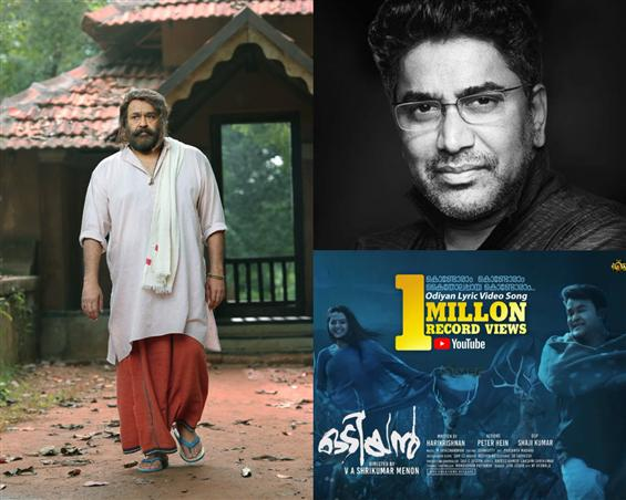 Odiyan: 1M+ Views for First Single, Director Injured & other updates on Mohanlal's film!