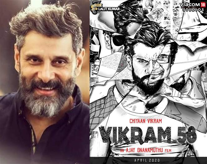 Official: Details of Chiyaan Vikram 58!