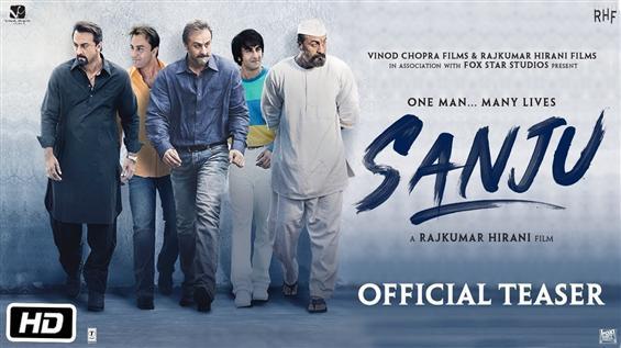 Official-Dutt Biopic titled Sanju, Teaser reveals Ranbir Kapoor's different looks as Sanjay Dutt