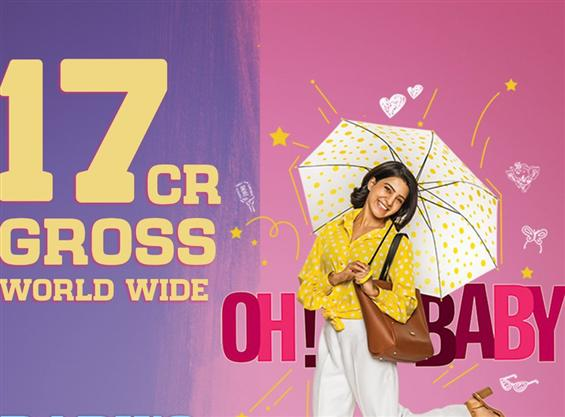 Oh Baby Opening Weekend Collection: Samantha's film is off to a solid start; grosses Rs. 17 cr worldwide