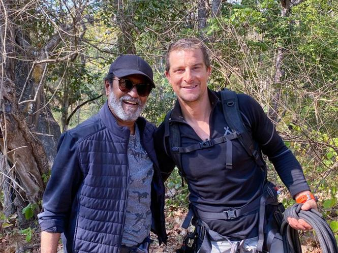 Only Scratches No Injuries for Rajinikanth during Man Vs Wild Shooting!