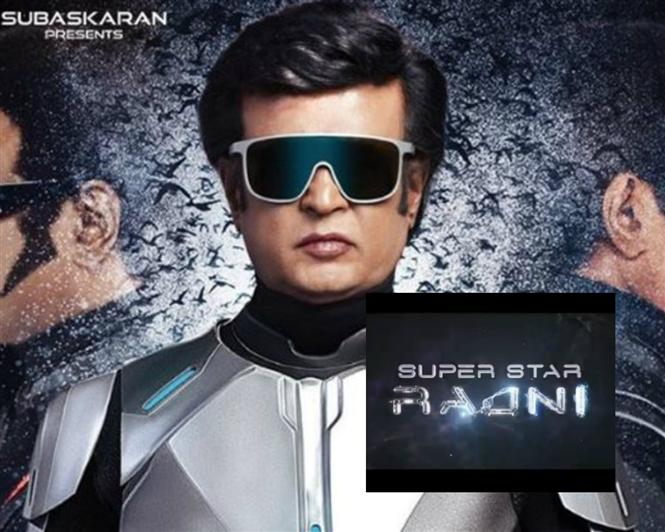 Opening Logo from 2.0 released for Rajinikanth's birthday!