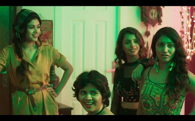 Oviya's 90 ML Trailer is what the CBFC would term 'Contanious'!