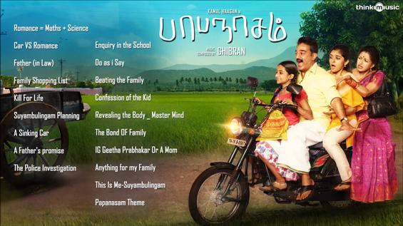 Papanasam Original Background Score