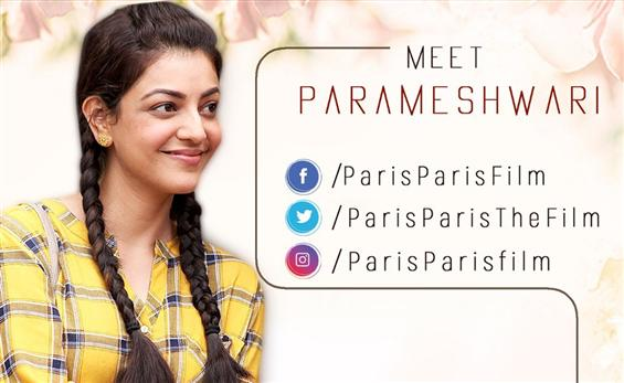 Paris Paris: First Look of Kajal Agarwal as Parame...