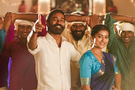 Pattas Review - Lively dhanush shines in this fest...