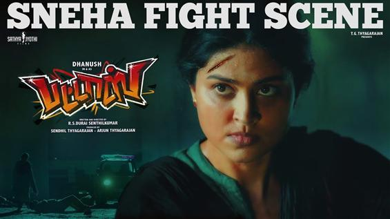 Pattas Sneak Peek: Sneha Fight Scene