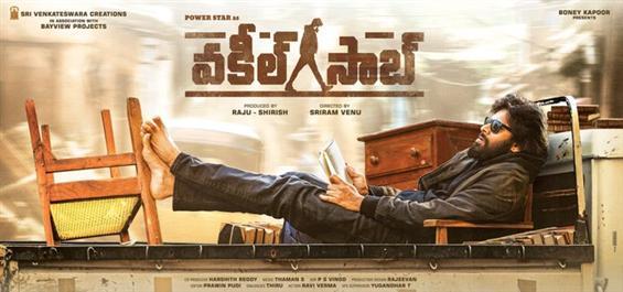 Pawan Kalyan's Pink Remake titled Vakeel Saab; Fir...
