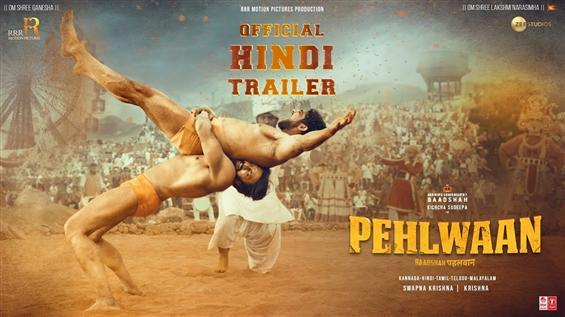 Pehlwaan Trailer ft. Kichcha Sudeep, Suniel Shetty