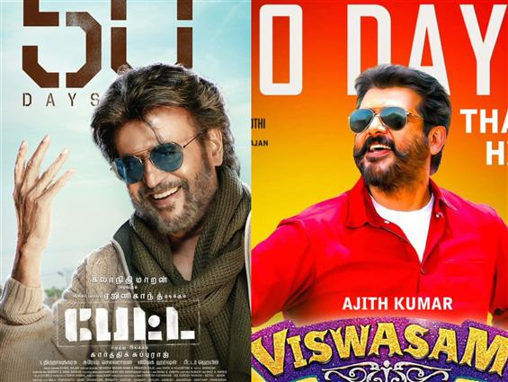 Petta, Viswasam celebrate 50 days of Box-office success!
