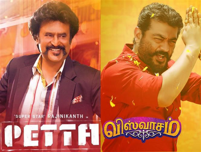Petta, Viswasam Chennai City Box Office Collections