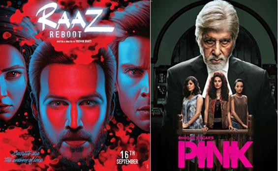 Pink and Raaz Reboot Opening Weekend Boxoffice Collection