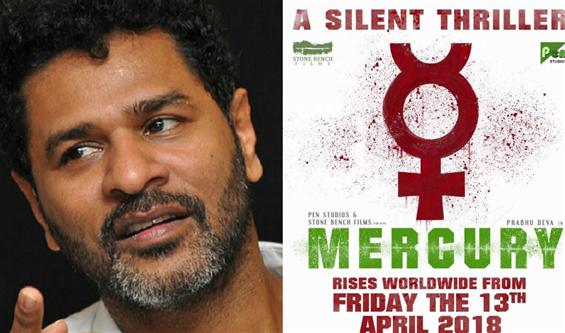 """""""Please don't watch pirated versions of Mercury,"""" Prabhu Deva's humble request to Tamil audience"""