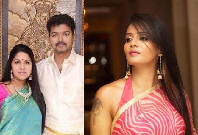 Police complaint against Meera Mithun! Vijay fans demand apology!