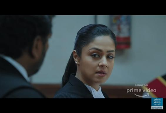 Ponmagal Vandhal Trailer feat. Jyotika as a persistent lawyer!