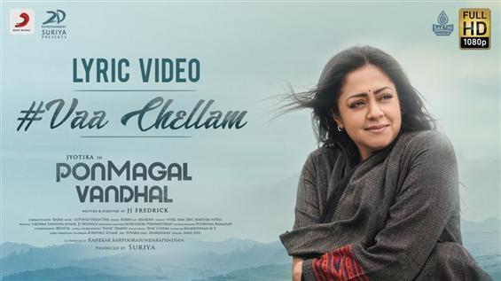 Ponmagal Vandhal: Vaa Chellam song by Brindha Sivakumar