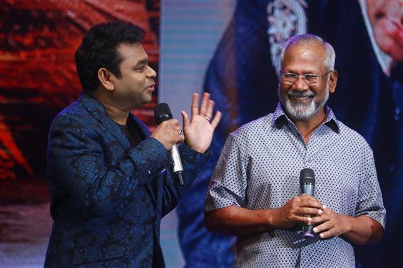Ponniyin Selvan: A.R. Rahman diverts the topic of Vairamuthu to Mani Ratnam!