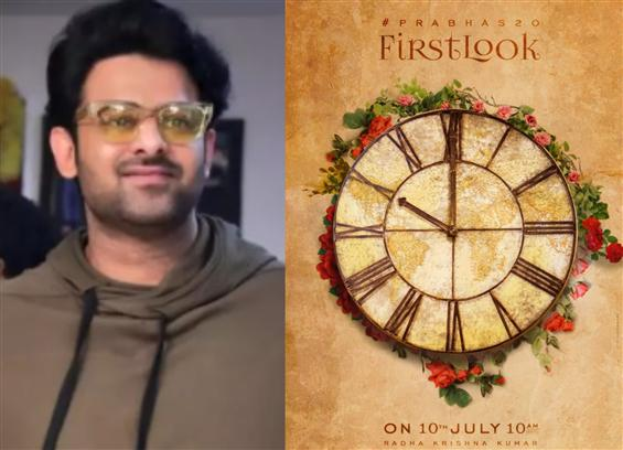 Prabhas 20 to have a first look release!