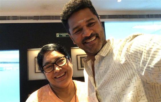 Prabhu Deva begins shooting for Devi 2