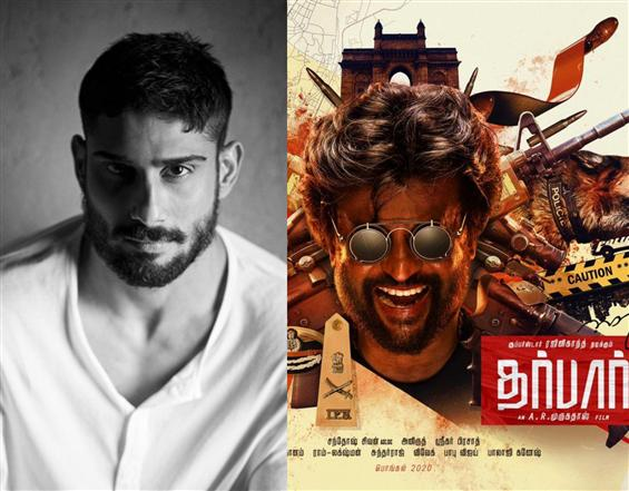 Prateik Babbar to play villain in Rajinikanth's Da...