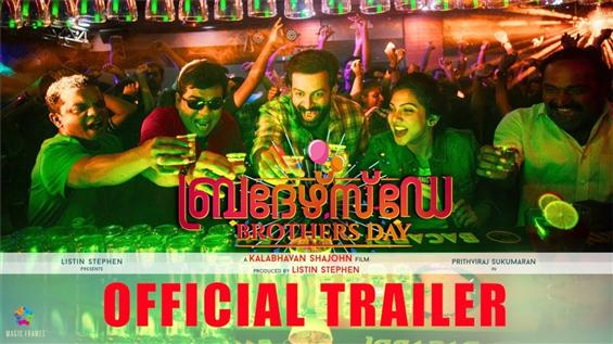 Prithviraj's Brother's Day Trailer is out!