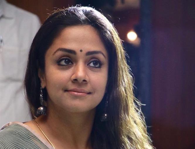 Raatchasi is not like Pallikoodam or Sattai, says Jyotika in the film's press meet!