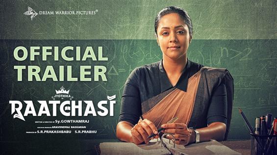 Raatchasi Trailer: Jyothika unleashes a bold & fierce teacher avatar!
