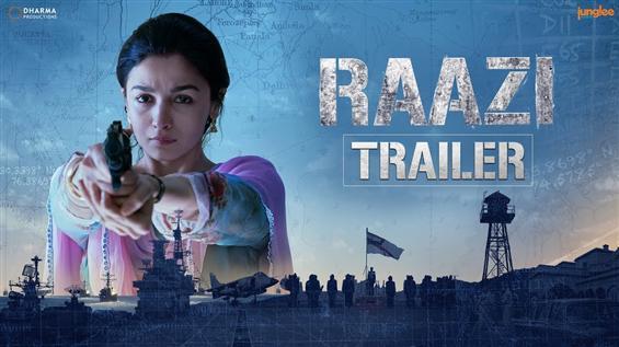 Raazi Trailer feat. Alia Bhatt