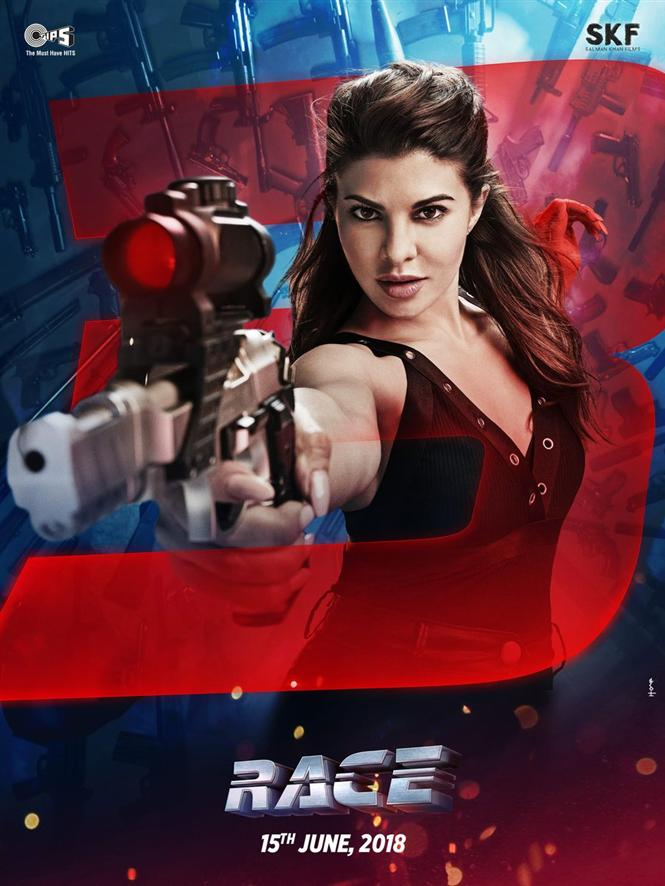 fa8980db1ac72 Race 3 new poster featuring Jacqueline Fernandez as Jessica Hindi ...