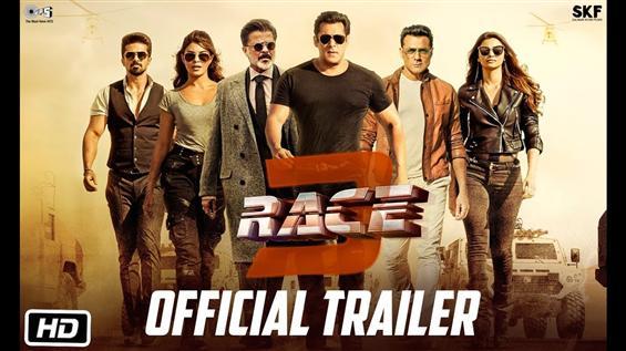 Race 3 Trailer feat. Salman Khan