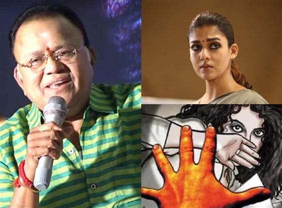 Radha Ravi slammed & suspended for distasteful rem...