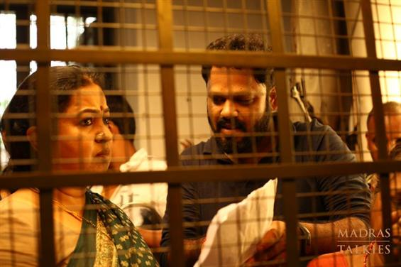 Radhika Sarathkumar & Padaiveeran director from th...