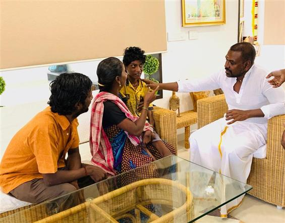 Raghava Lawrence's immediate help to needy boy