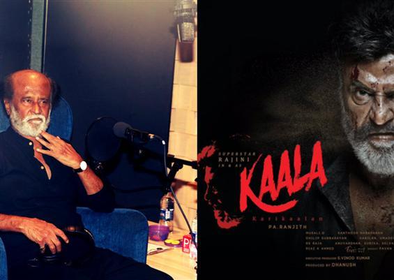 Rajinikanth begins dubbing for Kaala