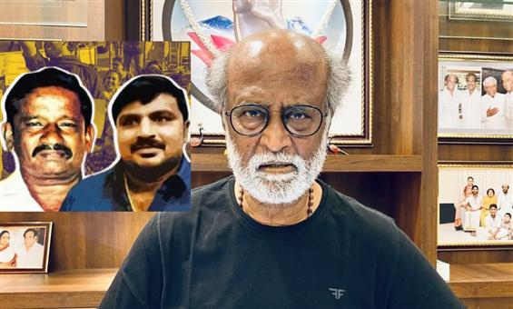 Rajinikanth expresses strong sentiments on Sathank...