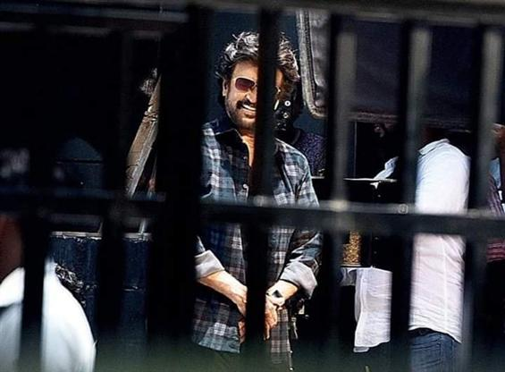 Rajinikanth Images from Darbar Shooting go viral!