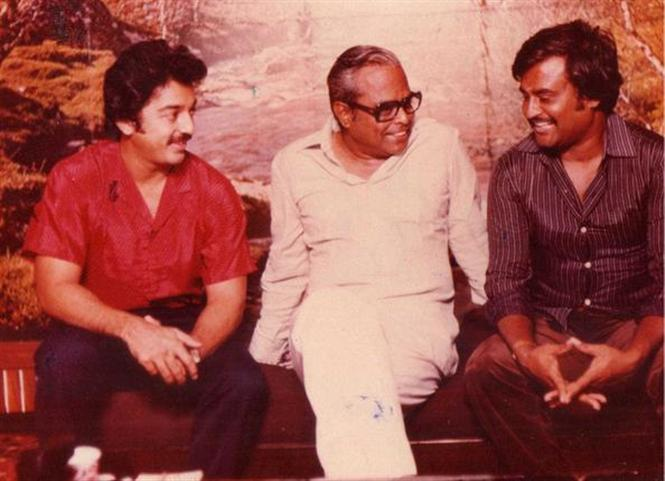 Rajinikanth, Kamal Haasan open up on equations with K. Balachander!
