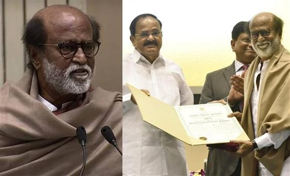 Rajinikanth pens dedication letter after awarded w...