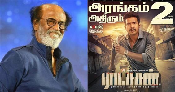 Rajinikanth praises Ratsasan, says it's a fantastic film