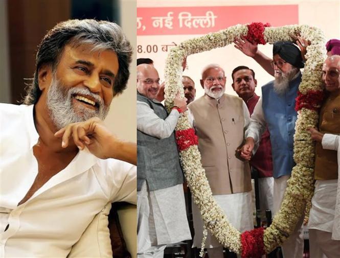 Rajinikanth, Sarathkumar, Varun Dhawan, Ajay DevgN among film celebrities congratulate PM Narendra Modi's Election Win!
